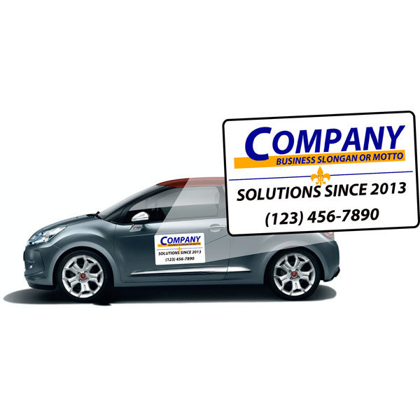 Custom Car Magnets to help market your business.
