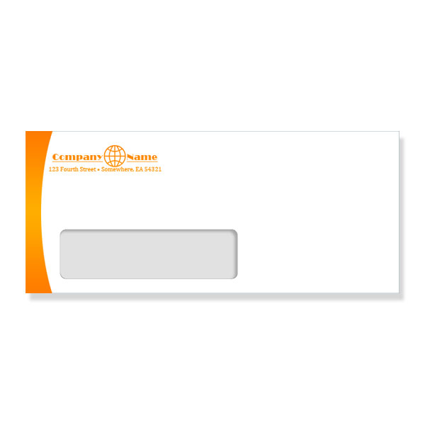 Customized Business # 10 Envelope Size