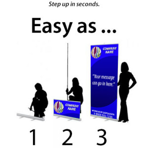 Roll Up Banners are great for trade shows or any promotion.