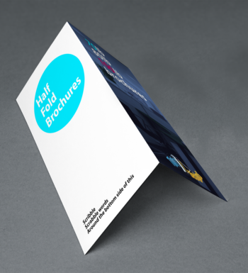 Half Fold Brochure Printing at Affordable Rates
