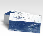 Impervious & Rip Proof Business Cards for Boat Mechanic or Yacht Captain