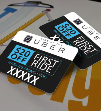 Uber Car Magnet with Referral Code