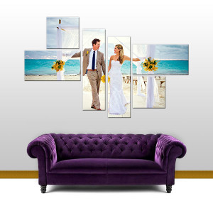 Buy Affordable Personalised Wedding Canvas Prints