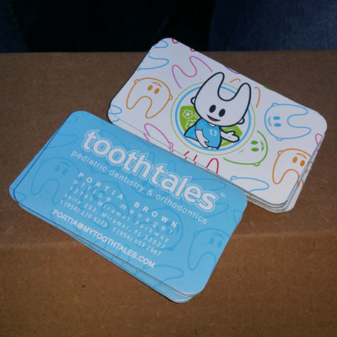 Tooth Tales Business Cards