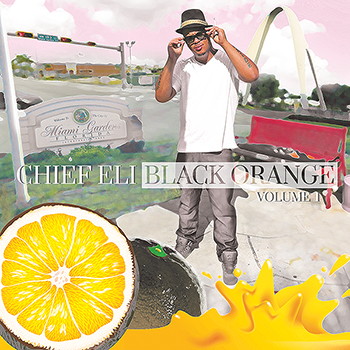 Chief Eli - Black Orange Mixtape Volume 1 design