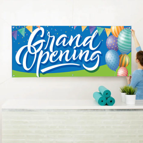 Grand Opening Banner Printing in Pembroke Pines