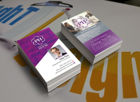 Princess House business cards for independent consultants and party host