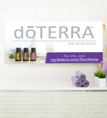 doTERRA Sign and banners for sale